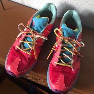 Adidas Rainbow Sneakers M 6.5 W 8.5